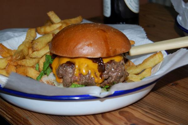 Burger from Honest Burger