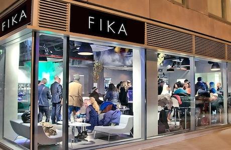 FIKA outside