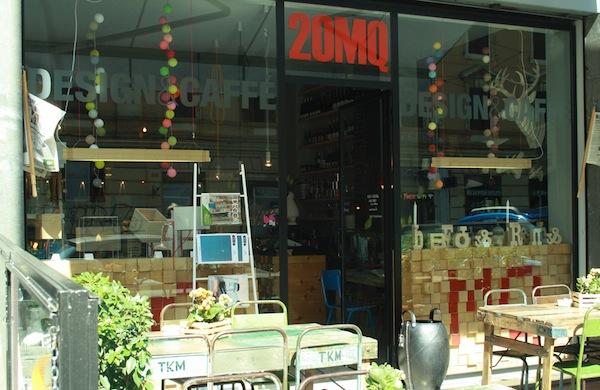 20MQ di buon cibo e design a Roma