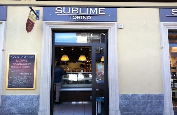 Sublime Boutique a Torino per colazione, pranzo e cena