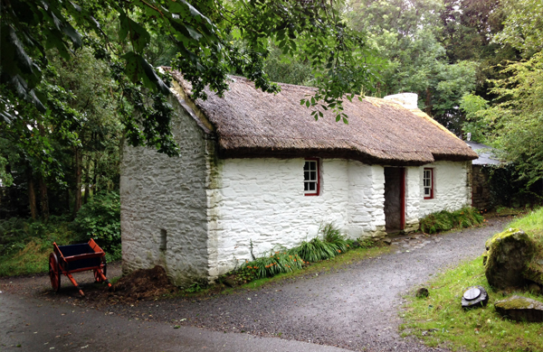 cottage at Ulster Folk and Transport Museum