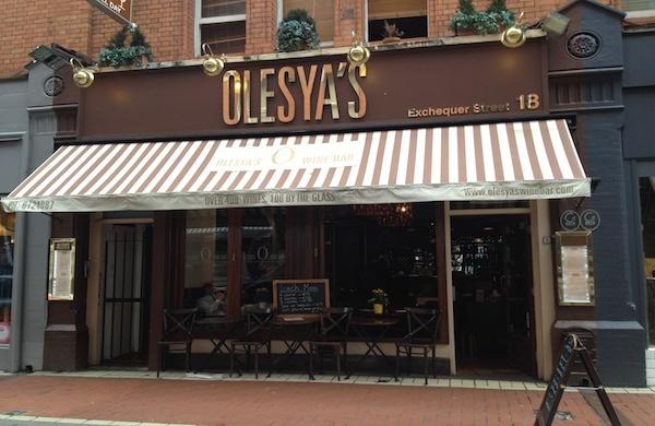 Olesya's Wine Bar, Wine Bar, Dublin