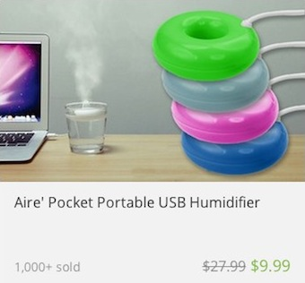 deal widget portable humidifier 340c216