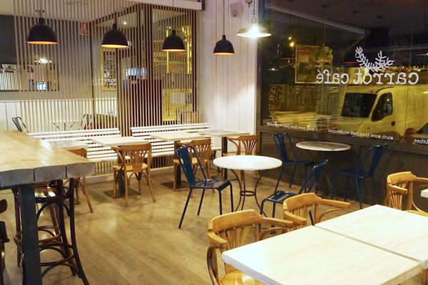 Bocadillos Diferentes con Toque Neoyorquino: Carrot Café