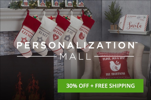 Personalization Mall Black Friday deal