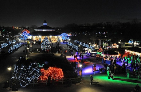 All Is Bright at These City and Suburban Holiday Light Displays