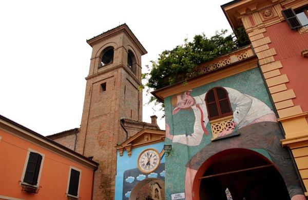 Una gita fuori porta a Bologna: Dozza e i suoi muri dipinti