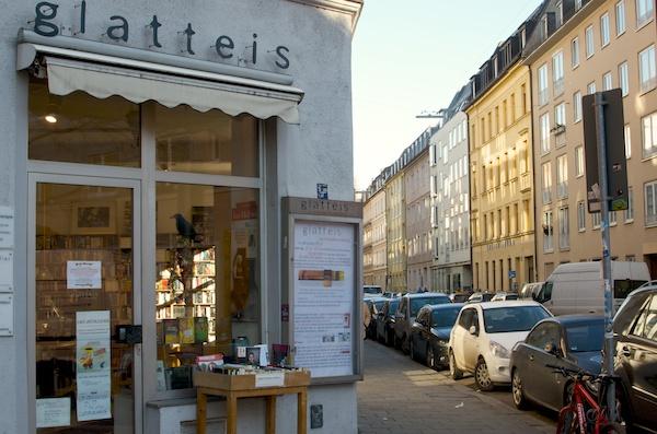 Buchhandlung Glatteis