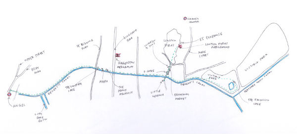 Regent's Canal Map