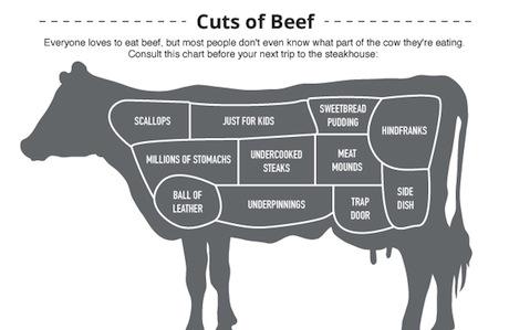 Beef Cuts: An Infograph