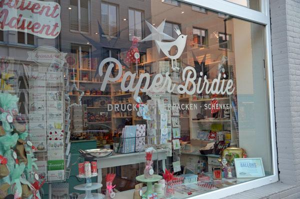 Paper Birdie Köln - Drucken, Verpacken, Schenken