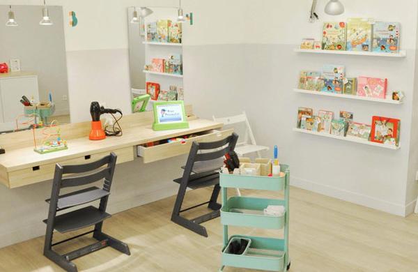 4 peluquerías infantiles en Barcelona