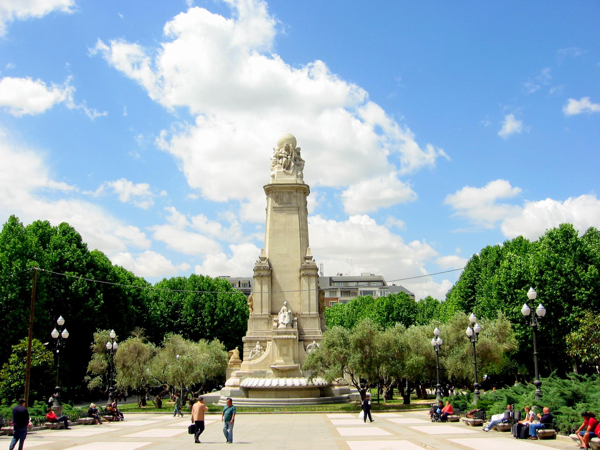 La Plaza de España de Madrid