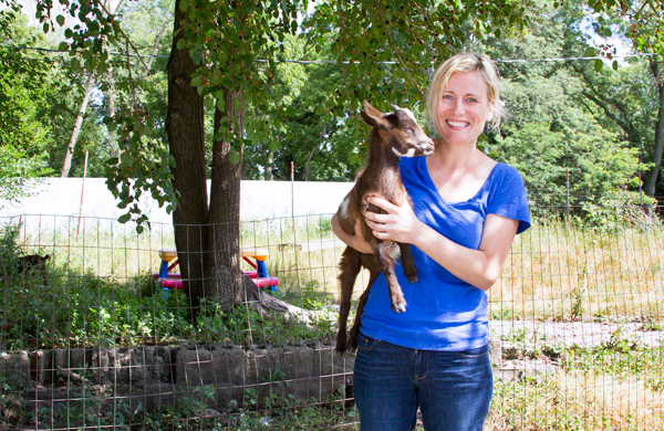 Here's Looking at You, Kid: A Conversation with Goat Farmer and Soap Maker Gretta Winkelbauer