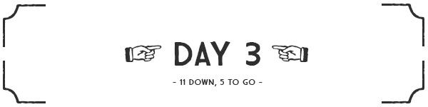 Day 3 banner