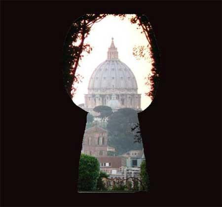 Roma San Pietro dalla serratura