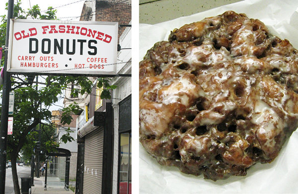 Biting Into the Apple Fritter at Old Fashioned Donuts in Roseland