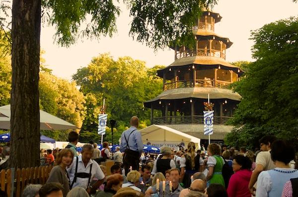 Die schönsten und ältesten Biergärten in München