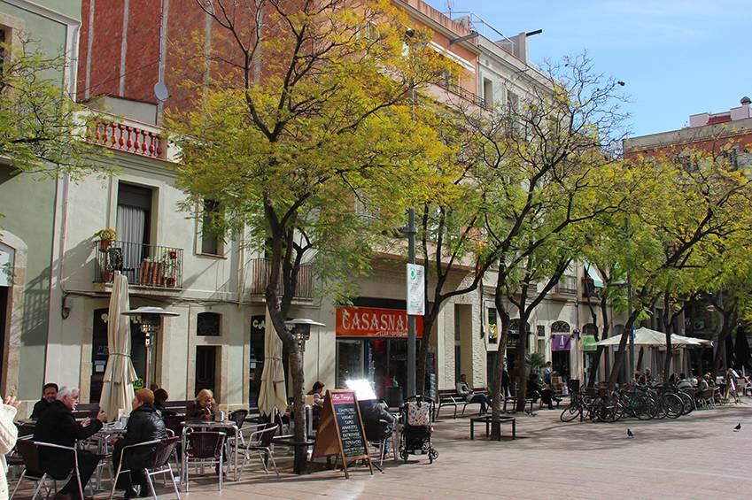 Plazas de Barcelona en el Barrio de Gracia