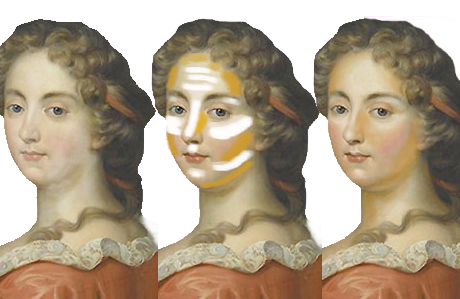 how to contour in five steps with help from an 18th century french noblewoman