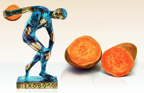 What's Inside Olympic Athletes' Bellies? (Lot of Yams)
