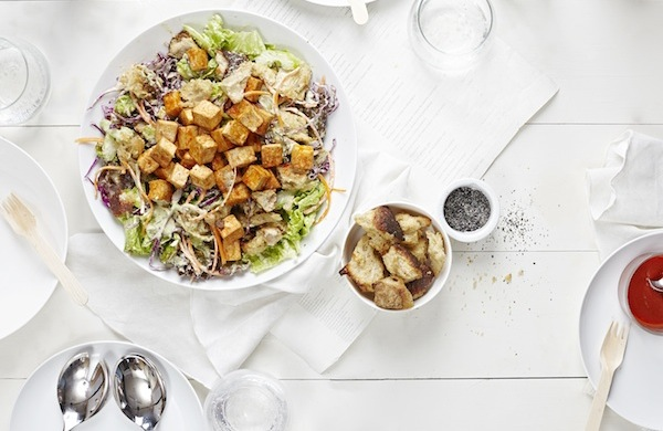 salad samurai BUFFALO CAESAR 600c390