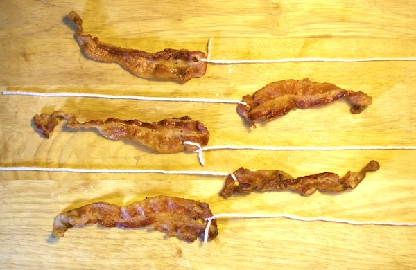 Bacon Wind Chimes, The Porch Decoration Your Nose Deserves