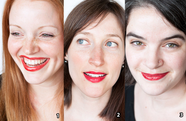 how to wear red lipstick casually