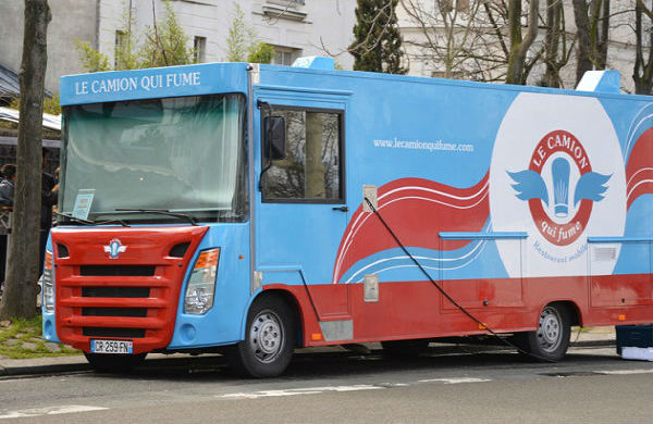La mode du Food Truck à Paris