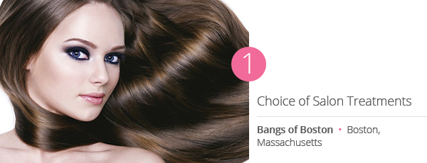 Choice of Salon Treatments at Bangs of Boston