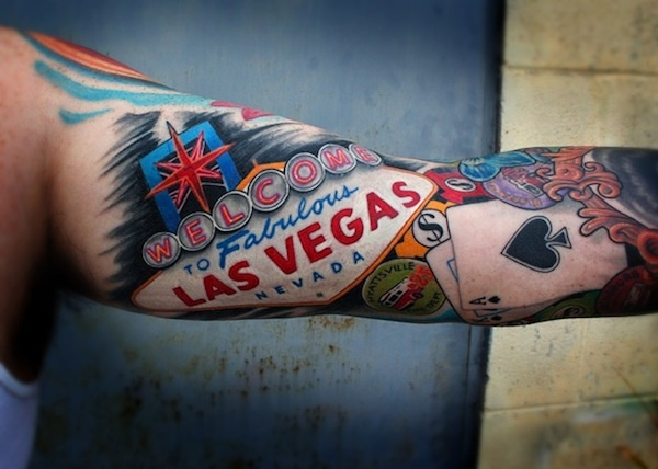 Four Decidedly Las Vegas Tattoos
