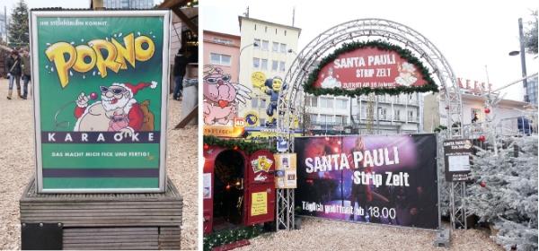 Weihnachtsmarkt Santa Pauli