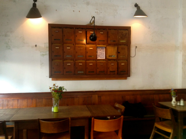 Café, Co-Working & Restaurant: Das Nest in Kreuzberg