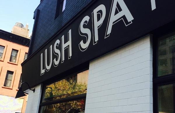 my massage at lush
