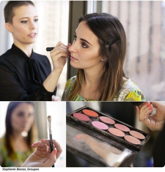 A Lesson in Contouring with Makeup Artist Hayley Kassel