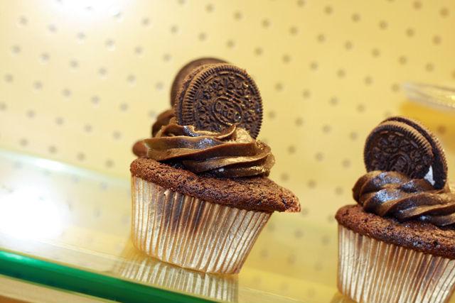 Cupcake oreo chocolat