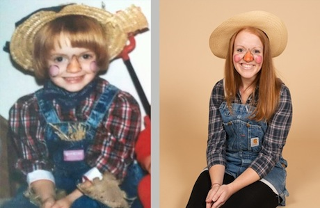 Halloween Costumes: Then and Now