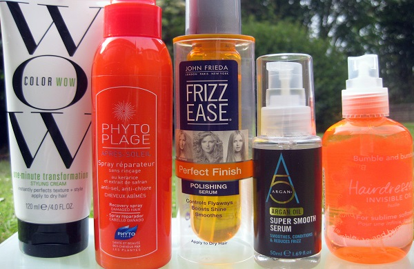 Products for summer hair styling