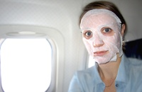 Why to Wear a Hydrating Sheet Mask on an Airplane