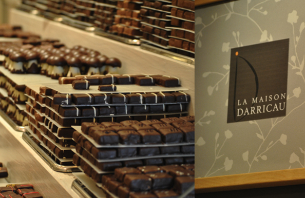 Michel et la chocolaterie… Darricau