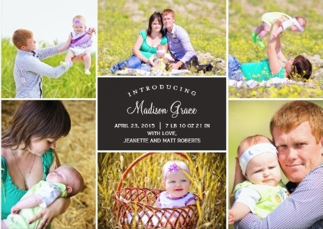 Birth Announcement Ideas for Busy New Parents – Madison Birth Announcements
