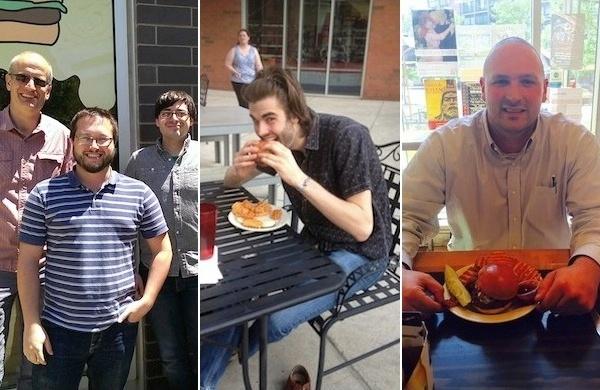 groupon burger customers