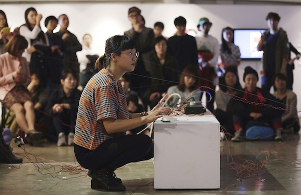 Deaf Artist Christine Sun Kim Interacts with Sound on Her Own Terms