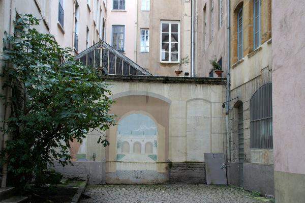 Traboule Lyon 3 Rue des Maronniers