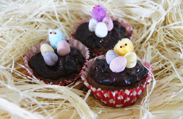 Chocolate Cupcake Recipe: Easter Egg Surprises
