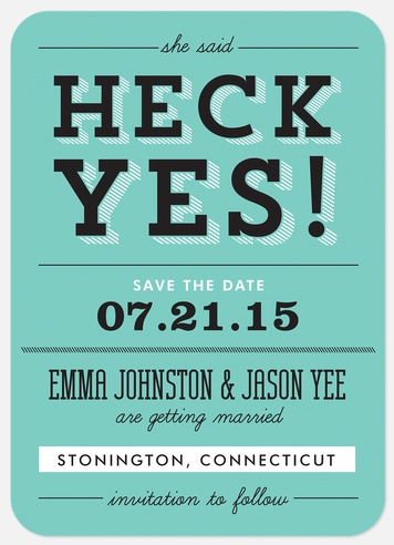 7 save the date ideas plus a few dos donts save the date 4 junglespirit Choice Image