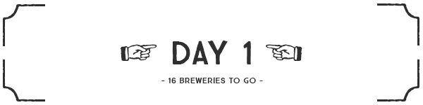 Day 1 banner