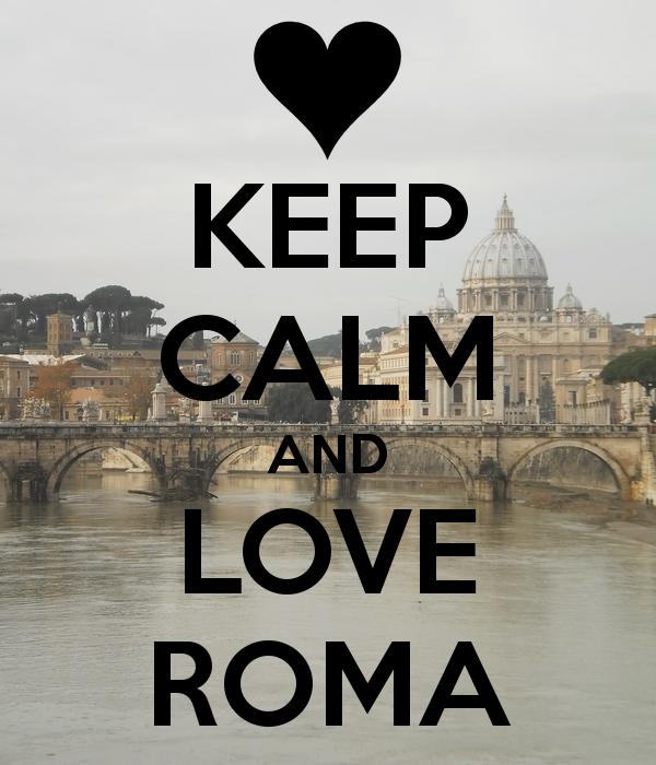 Keep Calm roma