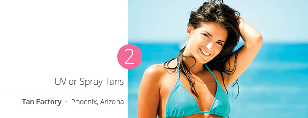 UV or Spray Tans at Tan Factory