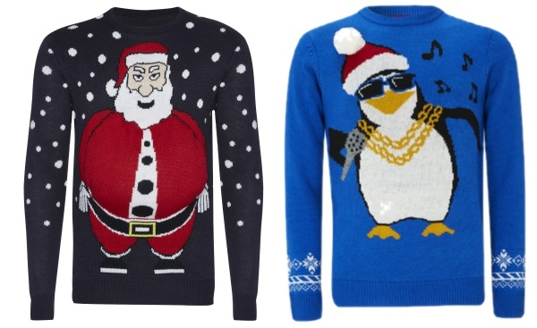 singing musical christmas jumpers
